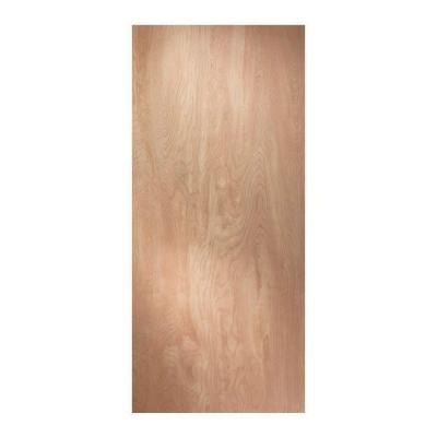 JELD-WEN 32 in. x 80 in. Wood Unfinished Flush Slab Door    Model # 119448    Store SKU # 104272
