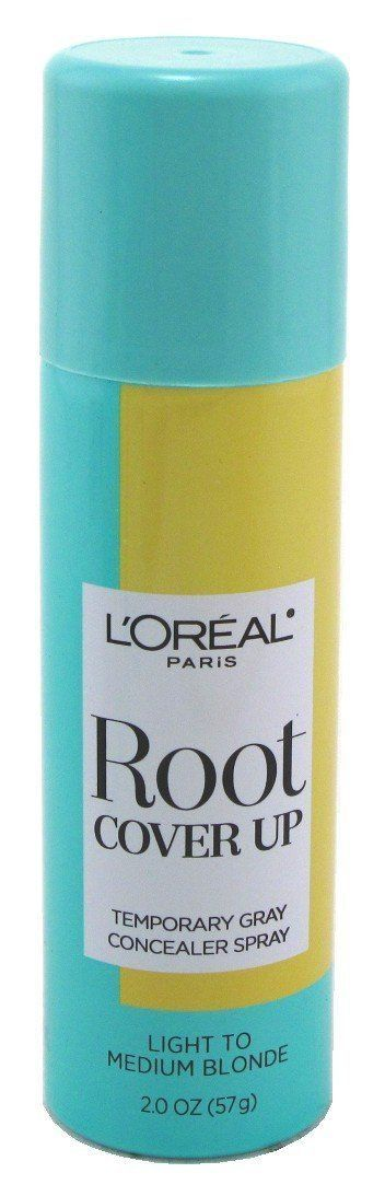 L'Oreal Root Cover Up Concealer Spray, Light to Medium Blonde, 2 Oz (Pack of 2) by L'Oreal Paris -- Special  product just for you. See it now! : Hair Shampoo