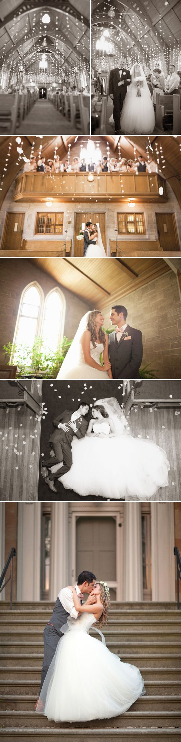 Romantic Southern Ontario Wedding