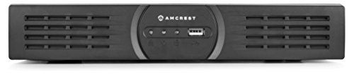 Amcrest 720P HD Over Analog (HDCVI) 8CH Video Security System w/ Four 1.0 MP Weatherproof IP66 Bullet Cameras, 65ft IR LED Night Vision, Long Distance Transmit Range (1,640ft), Pre-Installed 1TB HD