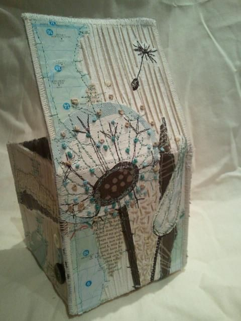 Anne Brooke - Collage Box - just love this - maybe a birthday present for Cheryl