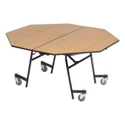 Midwest Folding Sot60 29 Quot X 60 Quot Octagon Mobile Table Unit