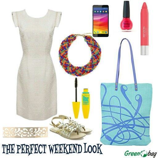 #GreenoBag presents to you the #look of the week. Perfect isn't it?