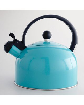 """""""Turquoise Tea Kettle"""".....say that 3x's fast :)"""