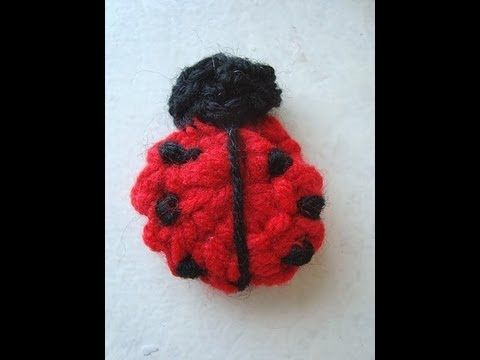 This is the ladybug I was talking about!  I so have got to do some of these up for Libby!  :c)