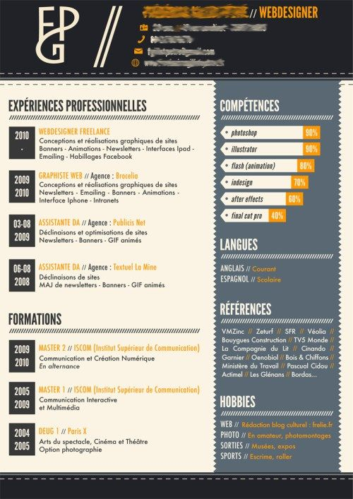 46 best CV images on Pinterest Resume, Design resume and Resume - resume sites