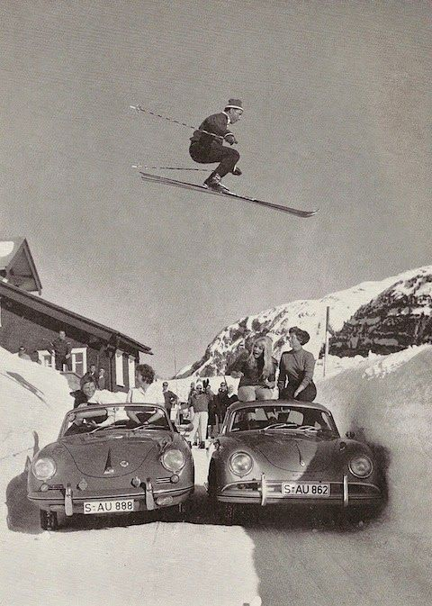 Best Jumping Flying Porsche Images On Pinterest Cars - Cool cars jumping