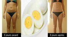 Voici un régime de 3 jours qui va vous permettre de perdre du poids sainement et…