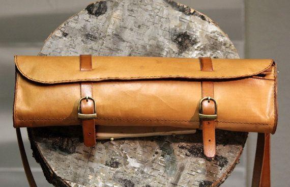 Transverse flute leather case bag Leder by SamakLeder on Etsy