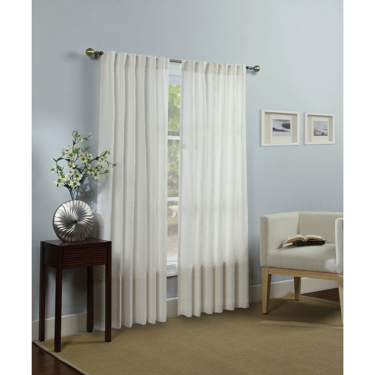 Hampshire Station Luxury Linen Lined Curtain Panel 96'