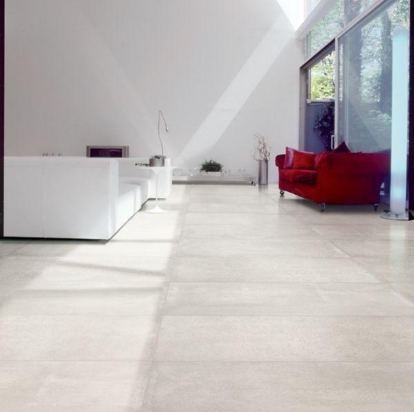 kleur te beige / materiaal mooi  - MAT  ............................................................................Nr. 21 Cemento White 60x120 by Viva
