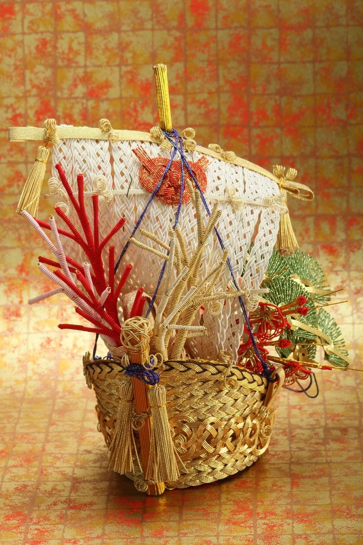 宝船   ㈲ながさわ結納店  #japan #mizuhiki #wedding #yuino#fukuoka#hakata