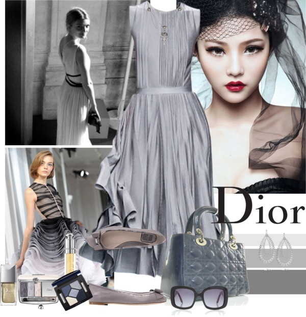 """""""Christian DIOR"""" by fiery555 ❤ liked on Polyvore"""