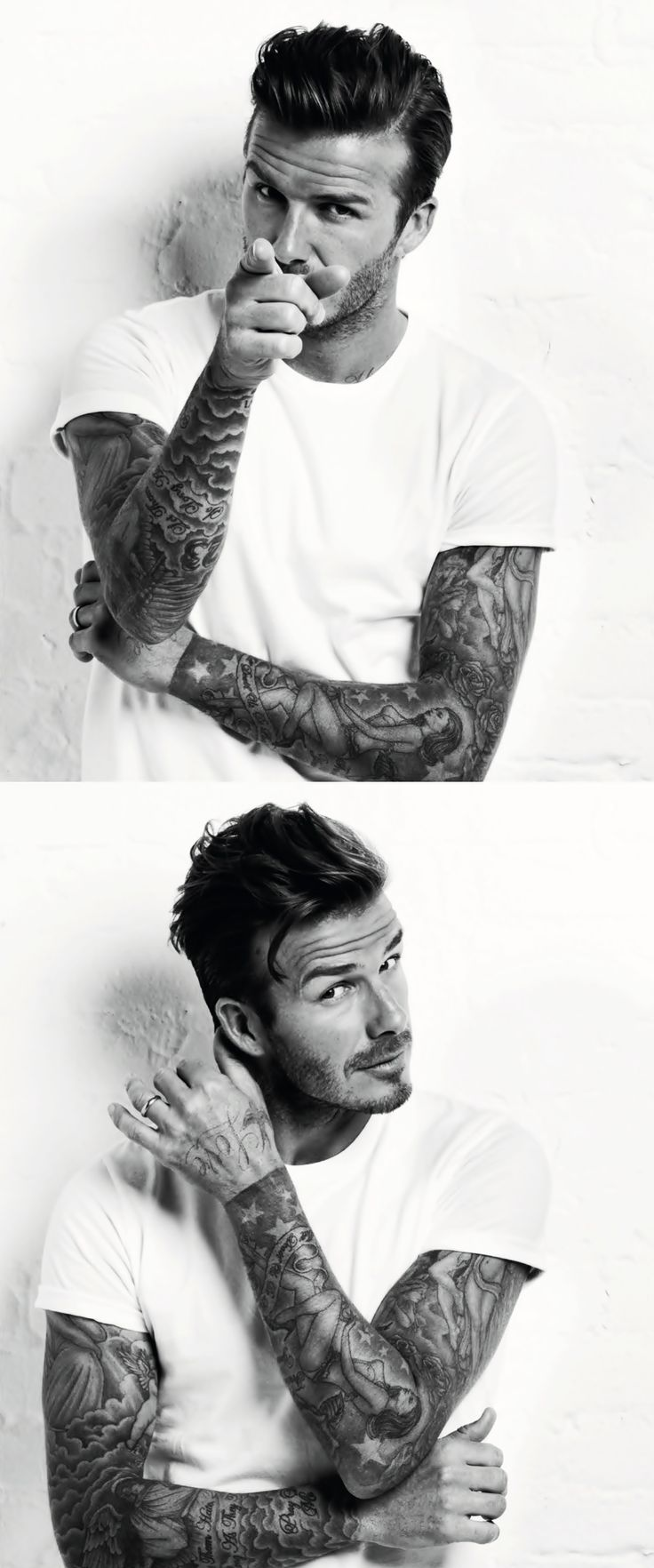 David Beckham, somebody for fathers and young folk to look up too.