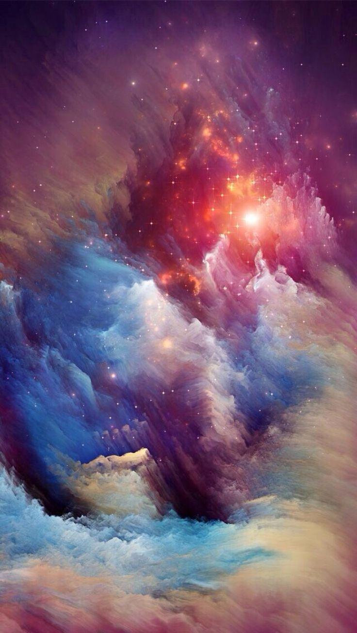 Cosmic ice sculptures of the Carina Nebula via Hubblesite.