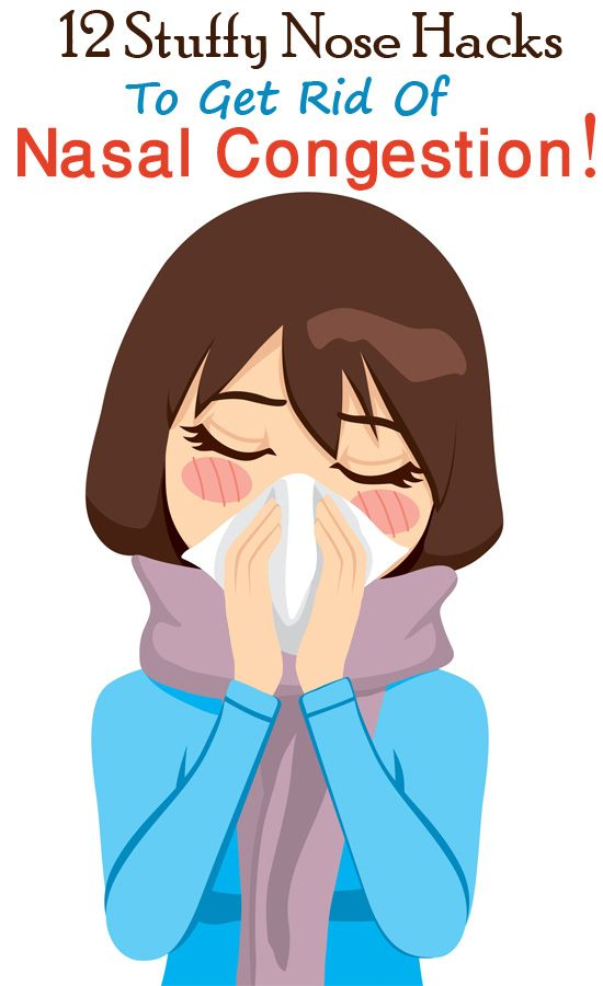 12 Stuffy Nose Hacks To Get Rid Of Nasal Congestion