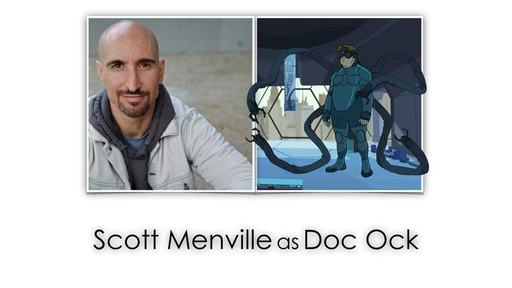 Scott Menville as Doc Ock in 'Marvel's Spider-Man'