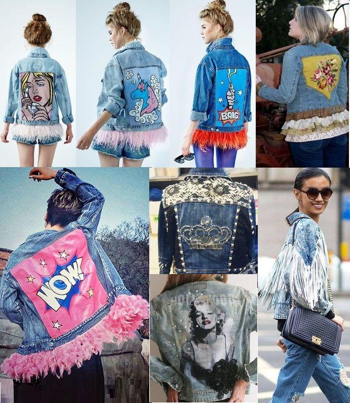 Модная мода 2017: женские джинсовые куртки кожаные косухи анораки бомберы тенденции фото | Модная мода