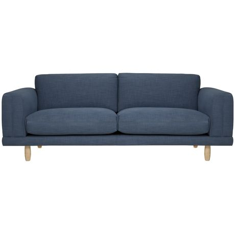 Folded 3 Seat Sofa Austria Navy