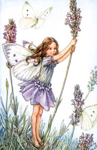 Love this vintage fairy wall art