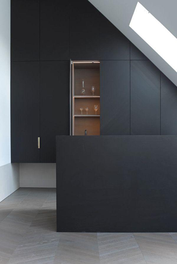 Loft conversion in Vienna by Bernd Gruber.