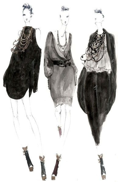 fashion #sketch by myrtle quillamor