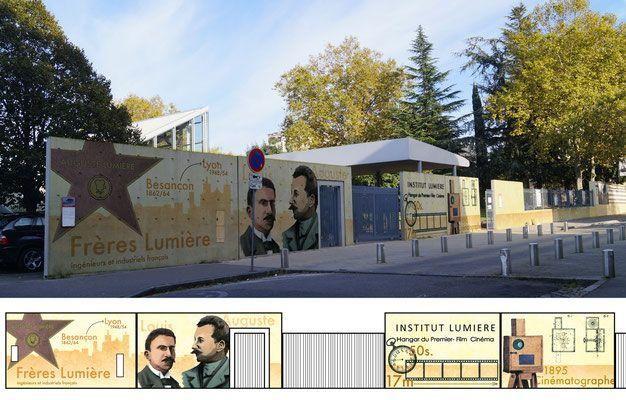 Projet de Diplôme sur l'Institut Lumière, Lyon