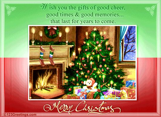 Christmas Wishes For Family!