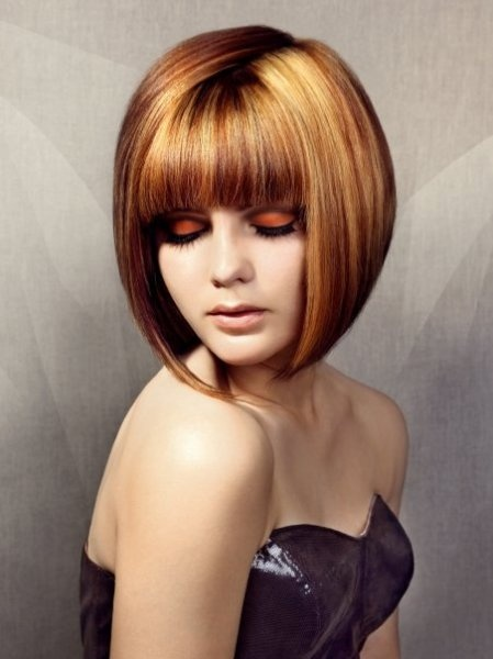 Vidal Sassoon shocked conventional standards by introducing his angular, asymmetrical, smooth bobs.