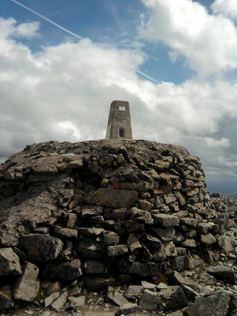 Ben Nevis summit.