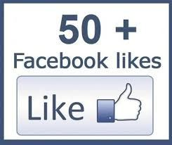 50 likes - On Facebook in a week!