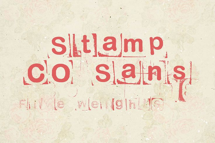 Stamp CO Sans – Free Font