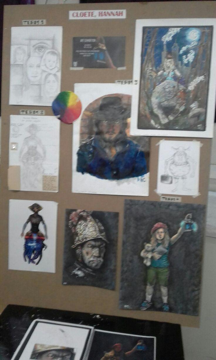 AnimeniacKING's art exhibition in 2016.