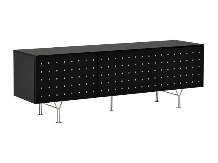 CALVIN TV-Bänk 150 Svart/Krom i gruppen Inomhus / Förvaring / Tv-bänkar hos Furniturebox (100-100-106688)