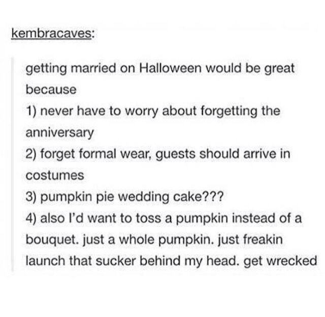 ITS OFFICIAL ILL MAKE JACQUELINE AND LILY GET MARRIED ON HALLOWEEN
