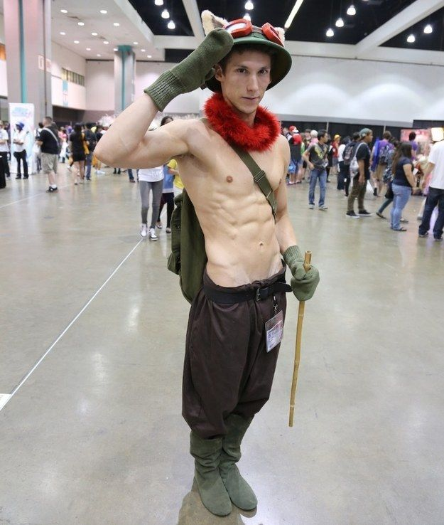 The 21 Most Important Shirtless Men At Anime Expo ...