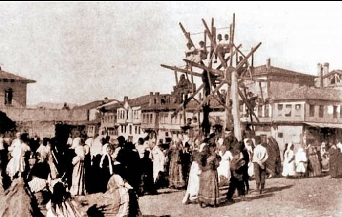 1910lar Ankara Hamamönünde panayır