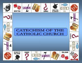 The Catholic Toolbox: Catechism of the Catholic Church (file folder game)