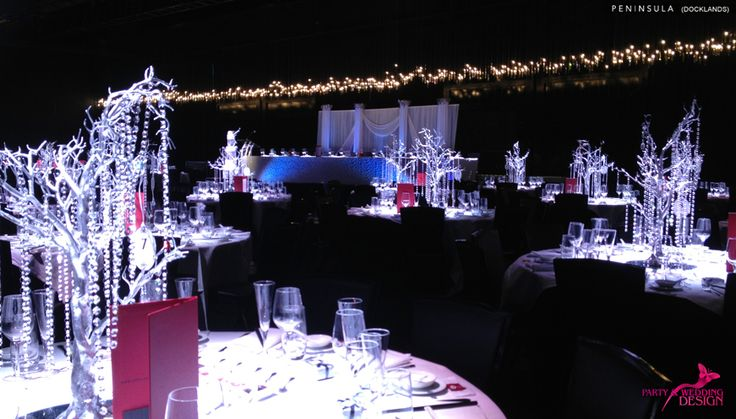Peninsula Docklands - designed by Party & Wedding Design