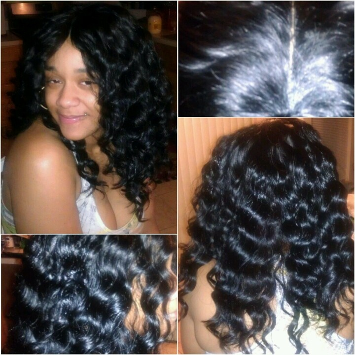 Invisible part sew-in iDidSewing In Idid, Sewin Idid