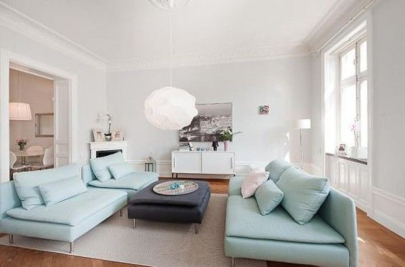 Fancy Small Apartment Design with 90 Sqm in Stockholm