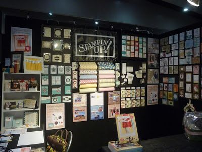 The Speckled Sparrow: Stampin' Up! Stand E21 Craft & Quilt Fair