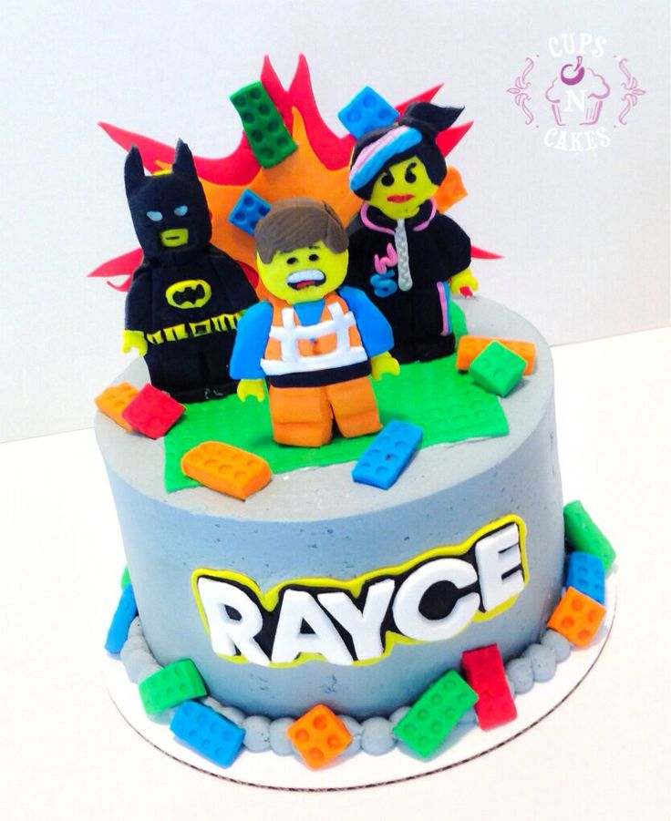 Lego Movie Cake Cups N Cakes Pinterest Lego Movie
