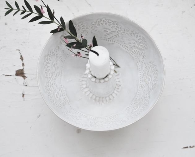 Josephine Candle bowl by PetraLundslera www.petralundslera.se Picture by Caroline Bodehed