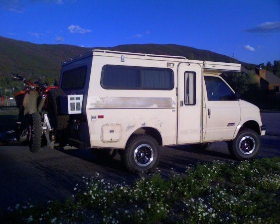 Rare 4x4 4wd Provan Tiger Gt Rv Camper Motorhome Astro Van