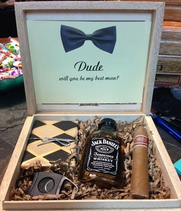 Dude will you be my best man Just add a Bottle Breacher