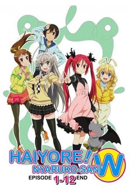 Haiyore! Nyaruko-san W / Nyaruko: Crawling with Love Season 2 Vol.1-12End Anime DVD