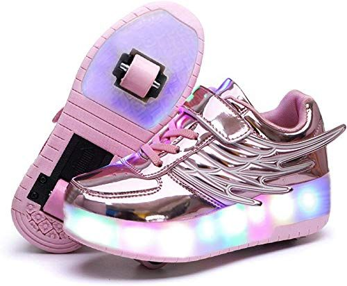 New Kids Girls Boys toys Wheel Roller Skate Christmas Gift LED Shoes Trainers