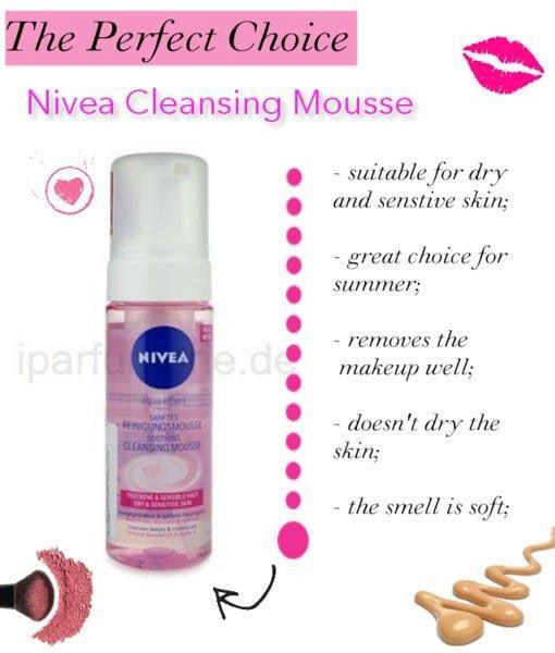 Review Nivea Aqua Effect Cleansing Mousse (sensitive skin)