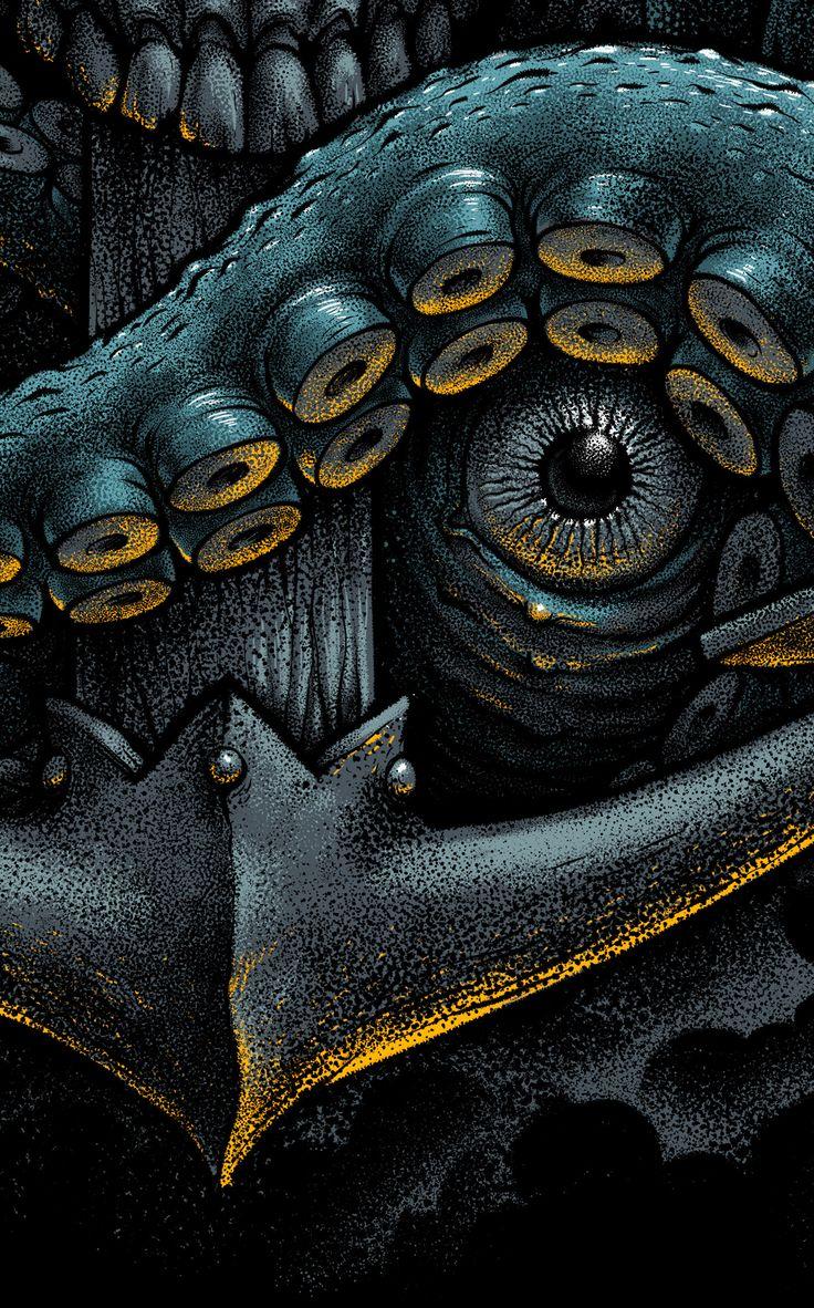 Kraken on Behance in 2020 Kraken art, Kraken, Norse tattoo